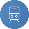 Bahn_Icon_blauer Hintergrund